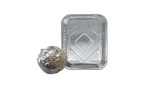 Aluminium foil and trays pictures