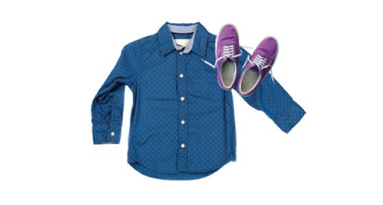 Pictures of shirt and shoes (Textiles) picture